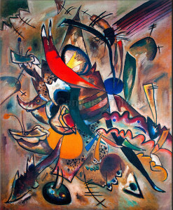 Wassily-Kandinsky-Painting-with-Points-1919