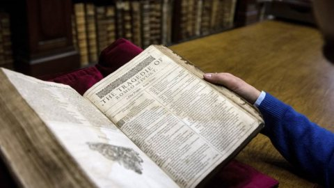 William Shakespeare: First Folio encontrado na França