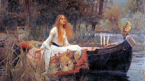 The lady of Shalott – A história do quadro